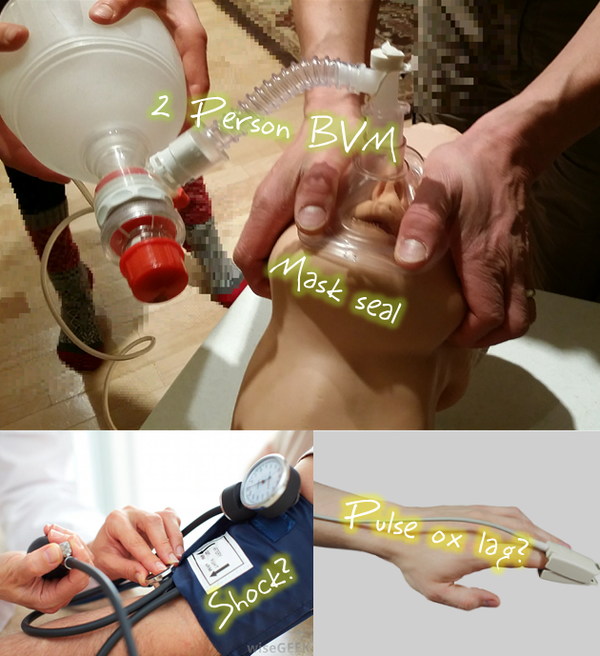how to use a bvm